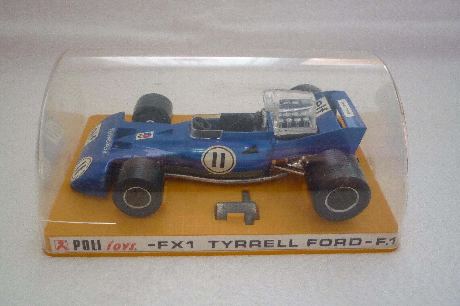 POLITOYS - Vintage Metal Model -tyrrell Ford - For 1 - 1 25 - (Poli 23)