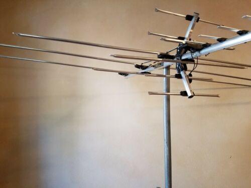 250 Mile Long Range HDTV1080p Outdoor Indoor TV Antenna Digital UHF//VHF FM Radio
