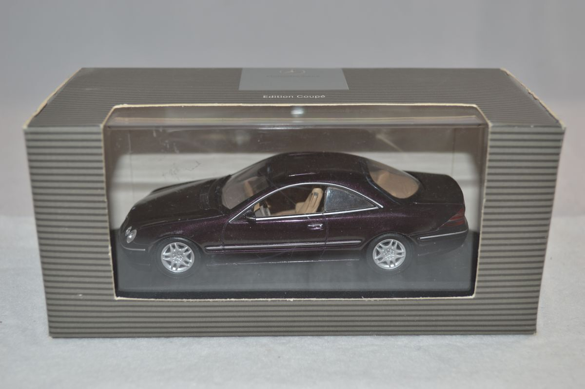 Minichamps Mercedes CL500 CL CL CL 500 1 43 Morado metallic mint in box - RARE a5b533