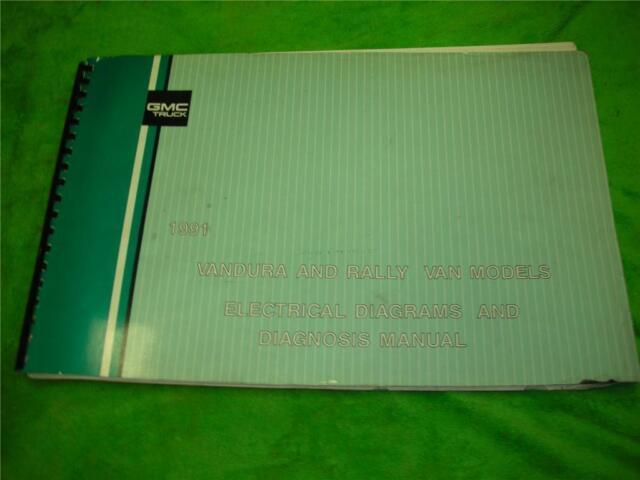 1991 Gmc Vandura Van Electrical Diagrams Service Manual