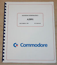Commodore Amiga System Schematics A 2091