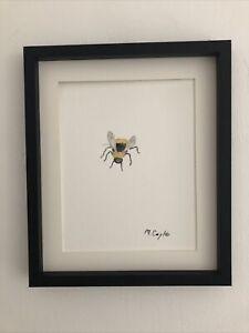 Bumble Bee Original Watercolour Painting, Original Art Not A Print