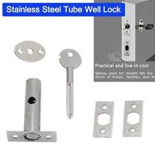 NEW DOOR SECURITY RACK BOLT AND STAR key 60MM EB SCREWS pack 2 locks + 2 key