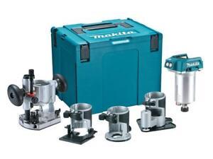 Makita-MAKDRT50ZJX3-DRT50ZJX3-Router-Trimmer-Body-4-Bases-18V-Bare-Unit