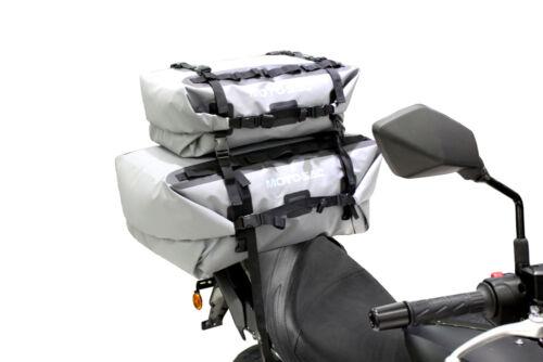 MOTO-SAC Motorcycle Universal 60L Rear Dry Bag Grey BMW R 1150 GS SE R 1200 GSA