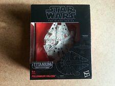 Star Wars The Black Series Titanium # 01 Millennium Falcon New Unopened