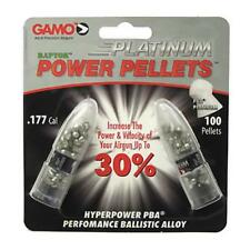Gamo 632265454 PBA Lead .177 Platinum Airgun Pellets Black 100 Count