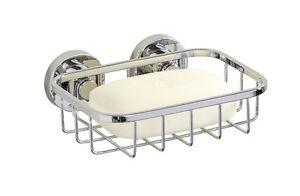 WENKO-Seifenablage-Seifenschale-Power-Loc-System-ohne-Bohren-Edelstahl-rostfrei