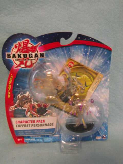 Bakugan Battle Brawlers Character Pack New Vestroia Figure Brontes Card NEW
