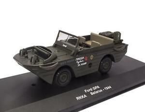 1//43 Ford GPA RKKA Belarus 1944 Armored car WWII  Réservoir