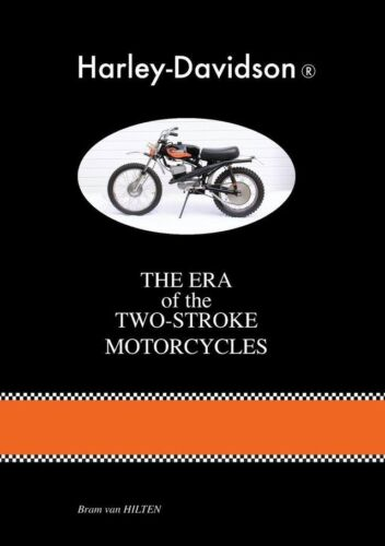 Harley Davidson Two-Stroke Motorcycles Book Birthday Gift