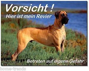 Haustierbedarf hund-aluminium-schild-0,5-3 Mm Dick-warnschild-hundeschild Intellektuell Deutsche Dogge