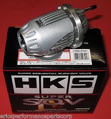 HKS SSQV Universal BOV Kit Super SSQV4 Super Sequential Valve 71008-AK001
