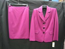 LESUIT SKIRT SUIT/NWT/$240/SIZE16W/FULLY LINED/ORCHID/SMOKE FREE/SKIRT LENGTH 25