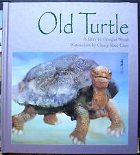 Old Turtle by Douglas Wood c2001, Hardcover, Grey Cover * We Combine Shipping