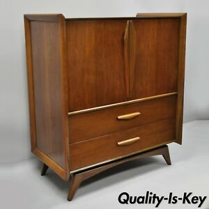 Image Is Loading Mid Century Modern Sculpted Walnut Vladimir Kagan Sty