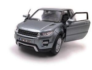 Range-Rover-Modele-avec-Wunschkennzeichen-Evoque-Tous-Terrains-Gris-Masstab-1-3