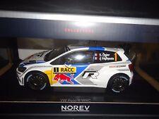 Norev Volkswagen Polo R WRC 2014 Spain Champion Ogier/Ingrassia 1/18