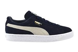 Plus Classic Blau 51 Peacoat Suede Puma White 356568 Sneaker Y5FnqExz8w