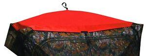 Av180 Barronett Blinds Yukon Pistes Blaze Orange Hub Aveugle Cap Refurb-afficher Le Titre D'origine Emballage Fort