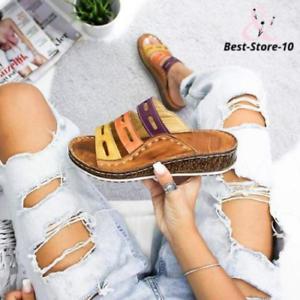 Women-Three-color-stitching-Sandals-Original-Quality-New
