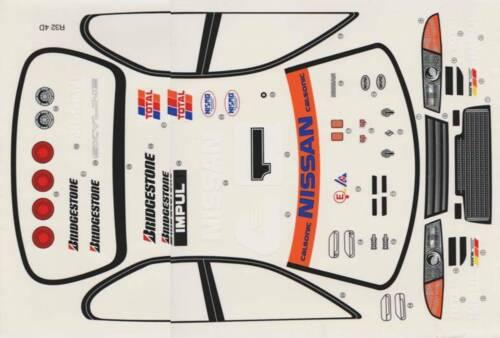 1:10 RC Clear Lexan Body Nissan R32 GTST 4 door 200mm Nitro or Electric Colt