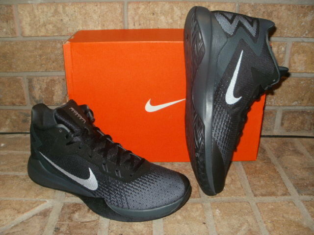 572c09149ff Nike Zoom Evidence Black Silver Mens Trainers 11 for sale online