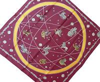 Nickituch Halstuch Sternzeichen Tierkreiszeichen Astrologie rotbraun Tuch 722