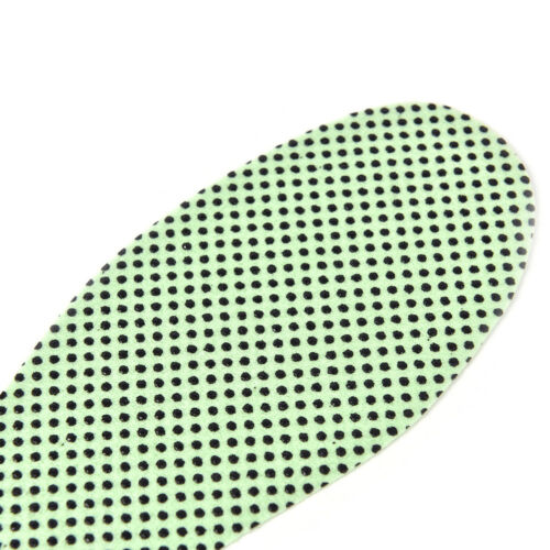 1Pair Green Warm Tourmaline Self Heated Shoes Insoles Insert Foot Cushion Pad P0