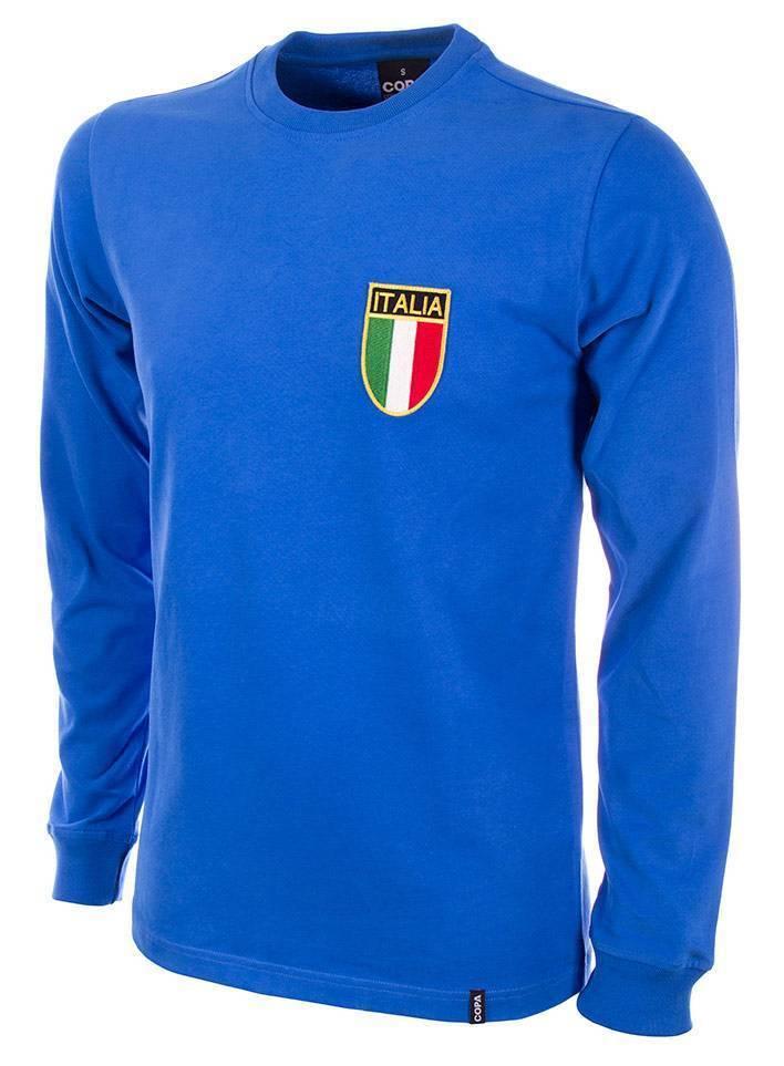 Copa Italien Retro Trikot langarm 70er Jahre NEU 549