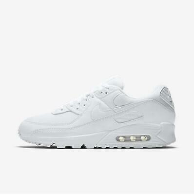 Nike Air Max 90 365 White All Size 4cm High Authentic Men's Shoes - CN8490 100   eBay