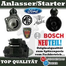 FORD ESCORT FIESTA AUSTIN MG MAESTRO ROVER ANLASSER STARTER 0,8 kW BOSCH NEU!!