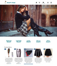 Dropshipping Skirts eCommerce Website Business Ready to Go with HUGE Potential