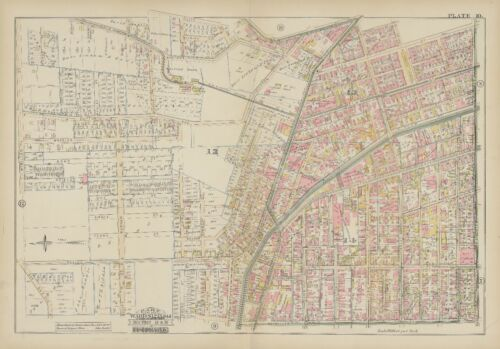 1884 HAMILTON COUNTY UNIVERSITY OF CINCINNATI FINDLAY MARKET ATLAS MAP OHIO