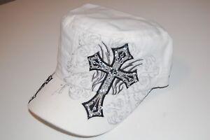 White-Cross-Cadet-Caps