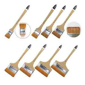 HWAHONG Watercolor Paint Background Brush Wide Soft Goat Synthetic Hair No.1- 8