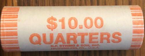 2001 D NY New York US State Quarter Roll Gem BU Uncirculated Denver mint