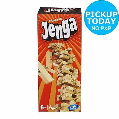 Jenga The Original Board Game Hasbro Gaming - 2+ Players 6+ Years