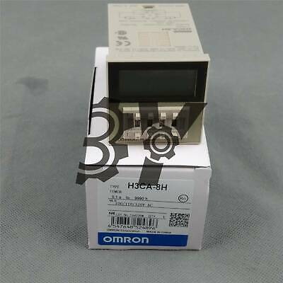 OMRON Timer H3CA-8 H3CA8 100//110//120VAC New in box fast ship