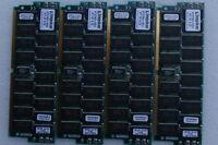 Kingston 256mb Kit (2 128) Kts7001/1024 Ultra 60 ( Lots Of 4 )
