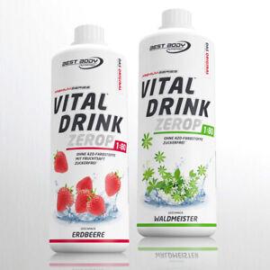 Best Body Low Carb Vital Drink 2 x 1 Ltr. Mineraldrink  ANGEBOT !! 11,45€ /Ltr.