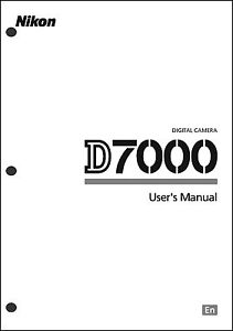 nikon d7000 user manual guide instruction operator manual ebay rh ebay com nikon d7000 manual chinese nikon d7000 manual settings
