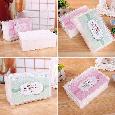 1000PCS Soft Makeup Cleansing Cotton Tissue Pad Disposable Facial Makeup Remover