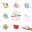 BT21-Character-Baby-Pongpong-Mini-Standing-Doll-7cm-7types-Authentic-K-POP-Goods miniature 1