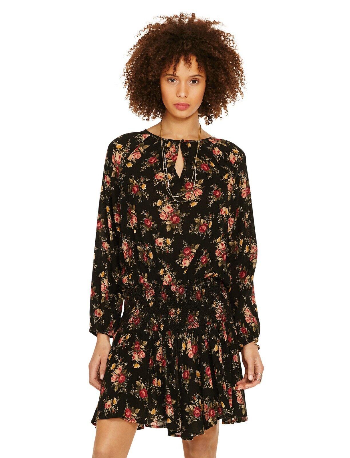 Denim & Supply Ralph Lauren Top Tunic Floral-Print Drop-Waist Dress Chloe NWT