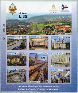 Honduras-2017-estampillada-sin-montar-o-nunca-montada-oficina-de-distrito-municipal-10-V-m-s-sellos
