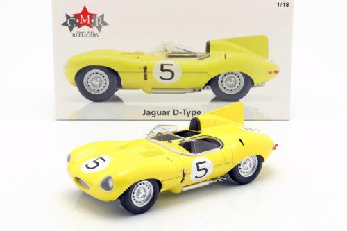 Jaguar Tipo D #5 4th 24h Lemans 1956 Swaters Rousselle 1:18 Cmr