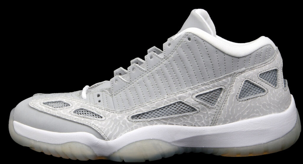 2018 Nike Air Jordan 11 XI Retro Low Silver Zest Comfortable The latest discount shoes for men and women