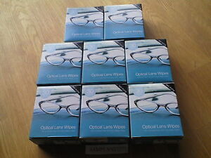 240-OPTICAL-Spectacle-GLASSES-LENS-MONITOR-SMEAR-FREE-CLEANING-WIPES-8-x-30pk