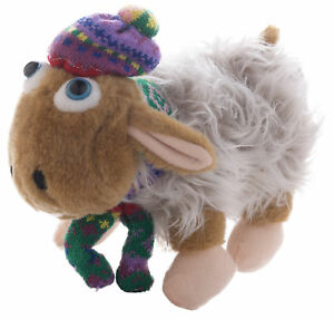 WHITE WELSH SHEEP HAT Wales Novelty Fun Soft Plush